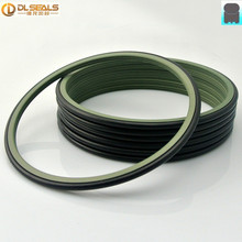 NBR Rubber High Pressure PTFE Rotary Shaft Seals Ring GRS