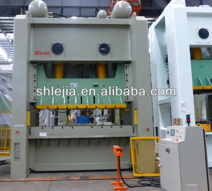 JB36 Series Straight Side Double-Crank mechanical press machine 400Ton