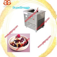 Square Pan Ice Frying Machine/Ice Frying Machine with Low Price/Fruit Vegetable Food Frying Ice Pan Machine
