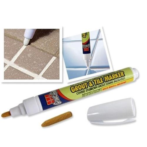 Grout-Aide & Tile Marker Ceramic Tile Repair Pen