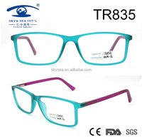 Blue perple double color light weight tr90 Optical Frames