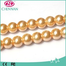 Hot Popular Round Glass Beads Crystal Beads For Embroidery