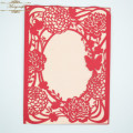 MR093 Classical Design Handmade Custom Laser Cut Wedding Invitations Cards Greeting Cards