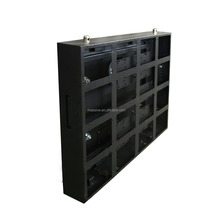 Full Color XXX Video P6 LED Display Indoor Rental Sheet Metal Iron Cabinet