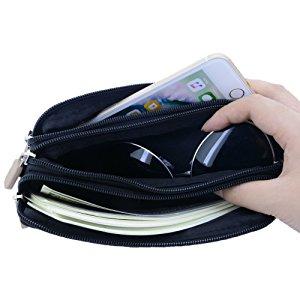 Pas cher personnalisé téléphone cellulaire pvc petit sac à main de dame classique