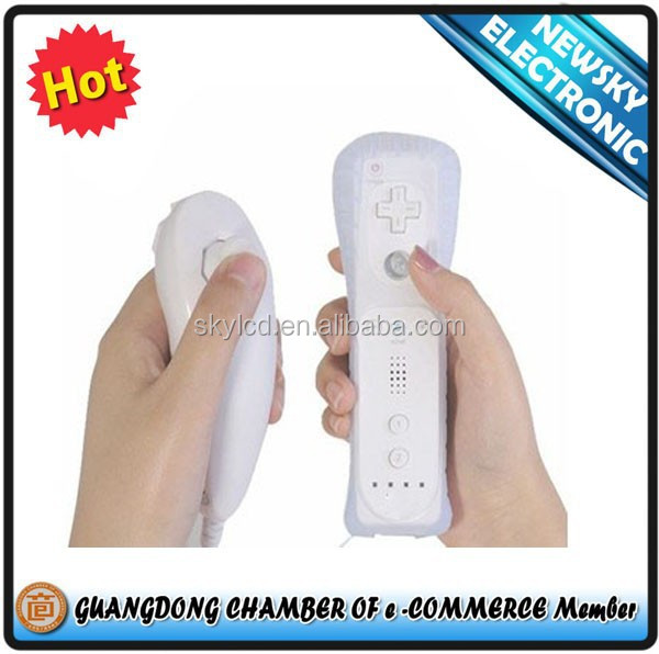 White Wireless Remote Controller For Nintendo Wii