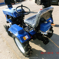 good quality and low price four wheel agriculture mini traktor