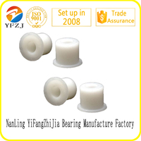 Low Friction Nylon Bushing Plastic Flanged