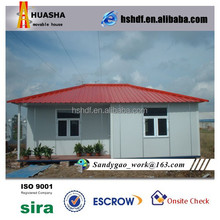 100 m2 light steel iron structure modular prefabricated house in philippines