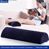 anti bacterial cleanable foot support pillow,foot pain fatigue ease foam pillow pad,OEM anti skid foot relax rest cushion