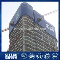 High grade antirust climb ladder scaffold