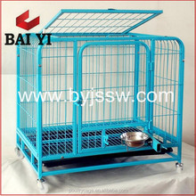 Hot Sale Decorate Welded Wire Dog Crate And Aluminum Folding Dog Cage