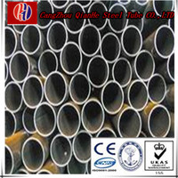 china factory price small diameter erw welded steel pipes ASTMA500 or building material