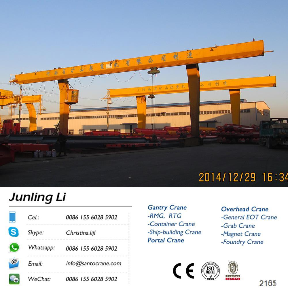 Low Clearance Uk Overhead Traveling Gantry Crane Components For Sale