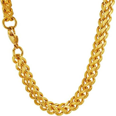 Gold Ip Plating Stainless Steel Franco Chains, Different Style Chains Wholesale 14k Gold Chain