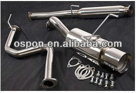 EXHAUST CATBACK for HONDA CIVIC COUPE SALOON 92-00 LX EX 1.5 1.6 VTEC