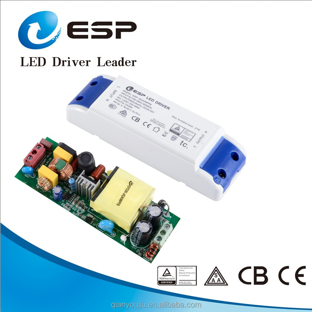 2016 ESP new products 30w power supply 36v 900ma led driver
