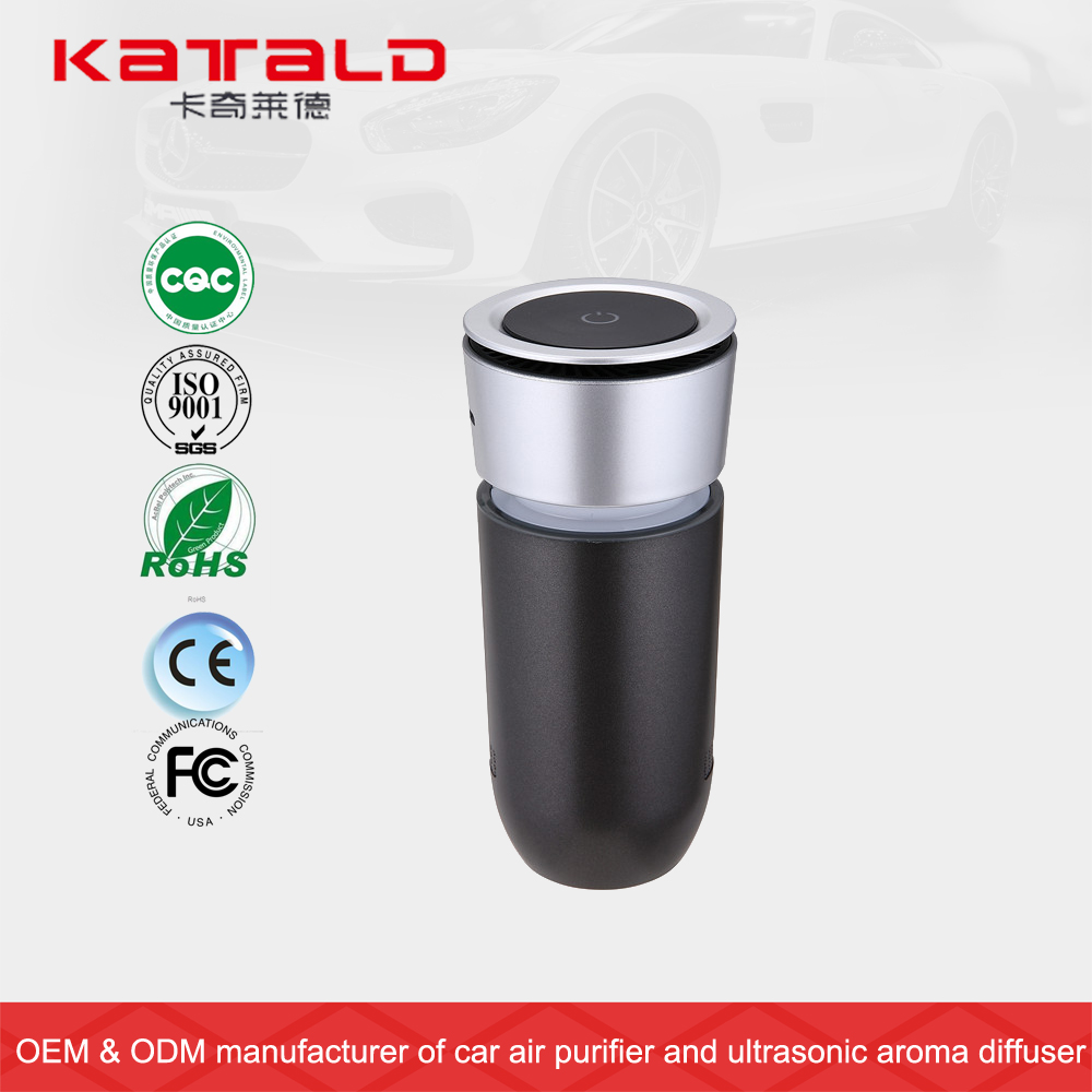 Hot sale mini air conditioner from China KQ-08 smart mini car air purifier air freshener