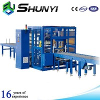 Manual orbital stretch cling film wrapping machine