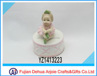 2015 new products ceramic ballerina