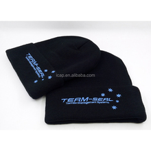 Wholesale customzied knitted cap and hat beanie cap acrylic beanie hat