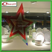 newest design holiday window static cling decal