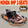 270cc 9HP Cheap Gas Go Karts with Two Seats