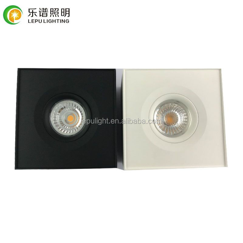 fast junction box 9w led cob surface downlight with warm white 2700k 3000k 4000k new born for European market
