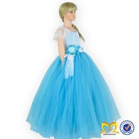 Wholesale kids tutu dress fashion kids party wear girl western dress