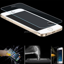 0.2 mm Tempered Glass Screen Protector Film For iPhone 5/5S Ultra-Thin Toughened Steel Membrane Phone Protective Film