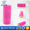 Shengde New Design Muscle Massage Hollow Grid EVA Foam Roller With Lid