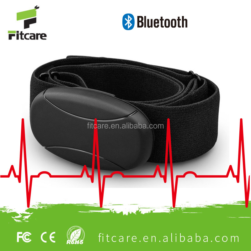 Bluetooth 4.0 wireless Heart Rate Pulse Transmitter / Fabric Chest Strap
