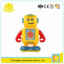 kids learning machine intelligent robot kit educational toy for selling