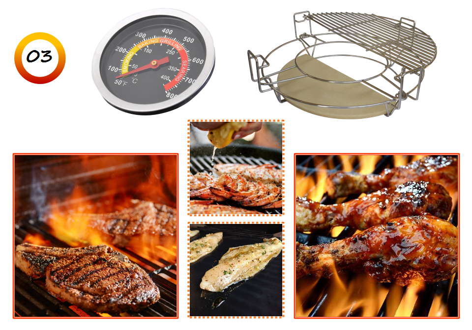 Hot New Product Garden Outdoor Ceramic BBQ Kamado
