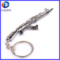 Metal Customized Gun Key Fob