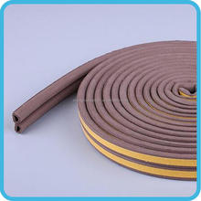 High density low expense car door weather rubber seal strip