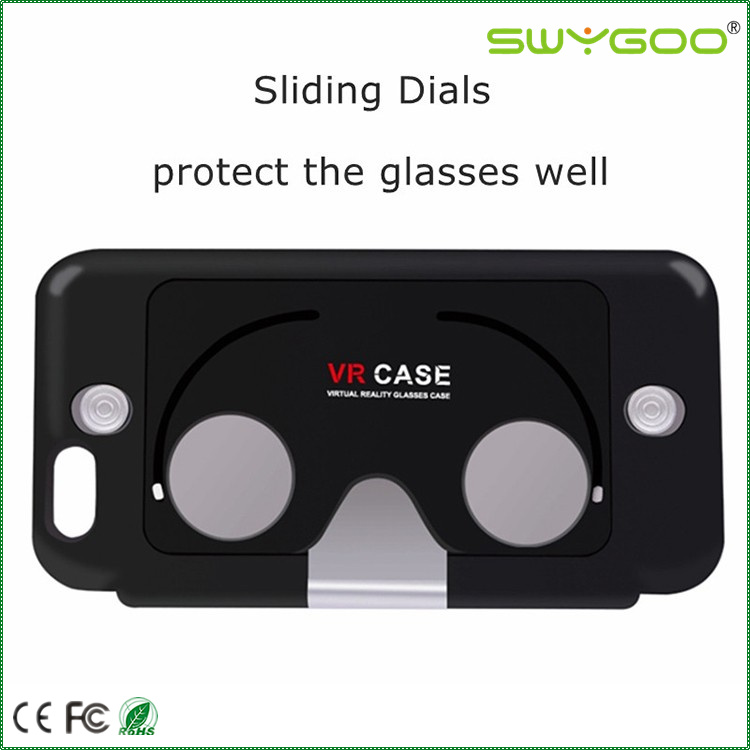 best selling VR virtual reality phone case cover 3d glasses for blue film/video