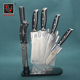 Kitchens Chef Knife Sets Stainless Steel Knife Set With Acrylic Stand