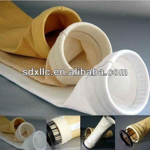 P84/PI Needled Felt/ filter material/filter sock/filter hose/filter media for collect dust