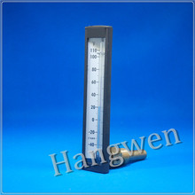Angle Navy/Marine glass thermometer