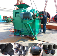 Whole charcoal coal production line ball press briquetting machine charcoal machine price