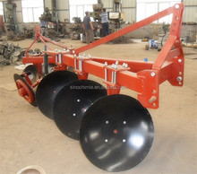3 disc plough one way disc plough
