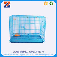 Factory price strong wire gauge foldable iron dog cage