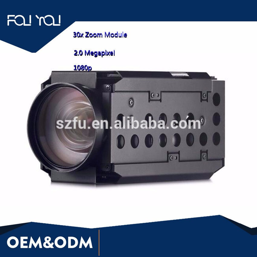 1080P HD 2.0 Megapixel H.265 30x Zoom Camera Module In CCTV camera
