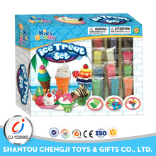 Kids colorful miniature decoration ice cream wholesale polymer clay