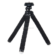 Fotopro hot sell octopus shape sponge Mini Flexible Tripod for camera or phone