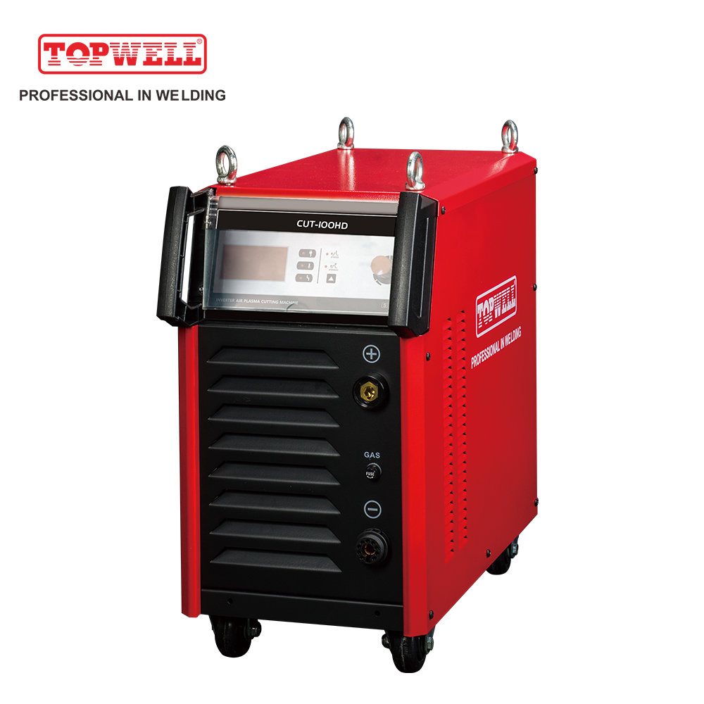topwell in China CNC clean plasma cutting for sale CUT-100HD