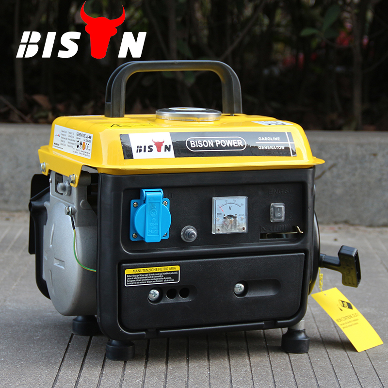BISON(CHINA) Taizhou Factory Light Weight Portable 950 Gasoline Small Generator