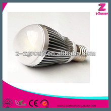 milk white case led bulb with 3 year warranty