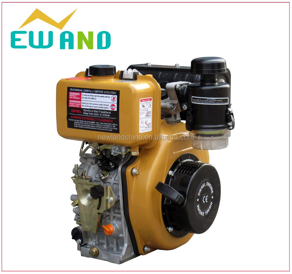 Hot sale air-cooled compressed air filter 178F Robin engine air cooled vertical diesel engine